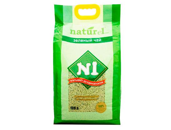 N1 Naturel Зеленый чай наполнитель для кошачьего туалета