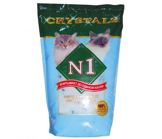 силикагелевый наполнитель N1 Crystals