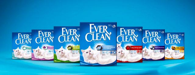 ever clean комкующийся наполнитель